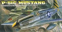 Academy P51C Mustang 1/72 Model Kit