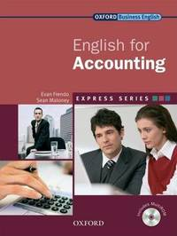 Express: English for Accounting Student's Book and MultiROM by Evan Frendo
