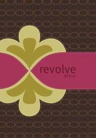 NCV, Revolve Bible, Leathersoft, Brown/Pink by Thomas Nelson