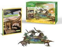 National Geographic Kids: Dinosaurs Park - 43 Piece 3D Puzzle image