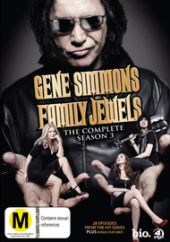 Gene Simmons Family Jewels: The Complete Season 3 (4 Disc Set) on DVD