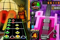 Guitar Hero: On Tour Decades Bundle (Game, Guitar grip) for Nintendo DS