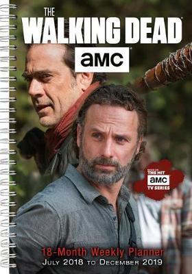 The Walking Dead 2019 18-Month Weekly Planner by AMC