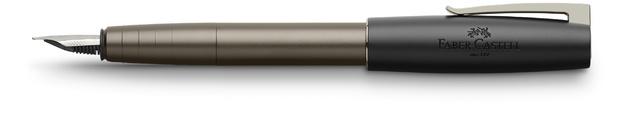 Faber-Castell Loom Fountain Pen Gunmetal Matt Med
