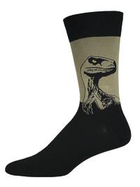 Men's Raptor Crew Socks - Olive