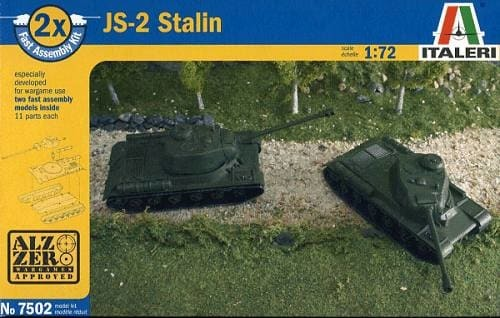 Italeri 1/72 Fast J2 Stalin Scale Model Kit image
