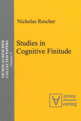 Studies in Cognitive Finitude by Nicholas Rescher image
