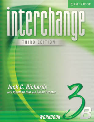 Interchange Workbook 3B: Level 3B by Jack C Richards image