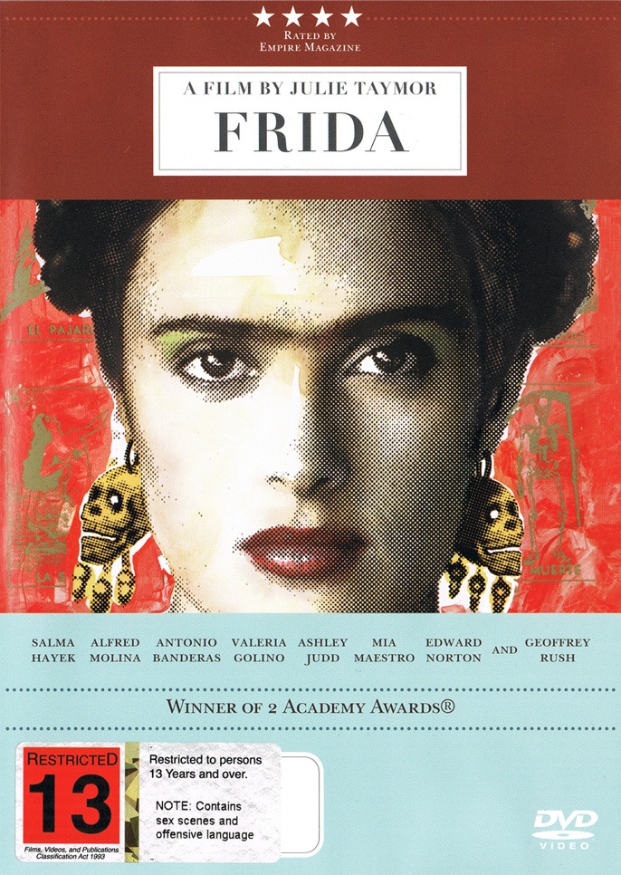 Frida on DVD image