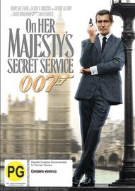 On Her Majesty's Secret Service (2012 Version) on DVD image