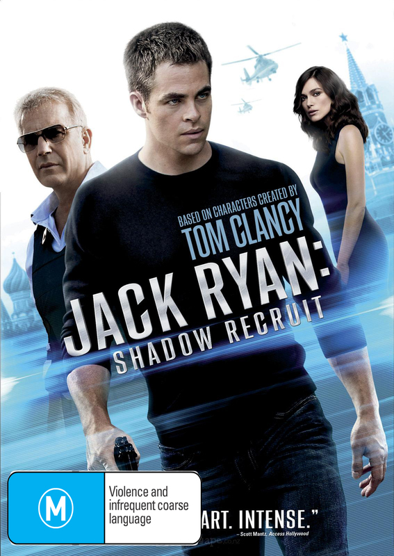 Jack Ryan: Shadow Recruit on DVD