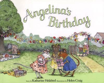 Angelina's Birthday by Katharine Holabird image