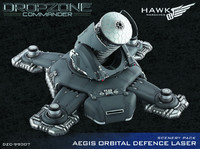 Dropzone Commander: Aegis Orbital Defence Laser - Scenery Pack