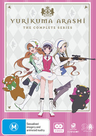 Yurikuma Arashi Complete Series on DVD