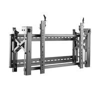 BRATECK: 45'-75' Pop-Out video wall bracket. Max load:70Kgs.VESA support up to: 600x400.Micro-adjustment points for display