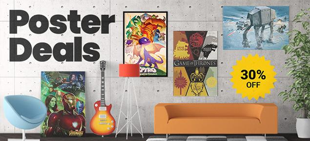 Poster Deals - 30% off!