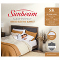 Sunbeam: Sleep Perfect Super King Bed Quilted Heated Blanket