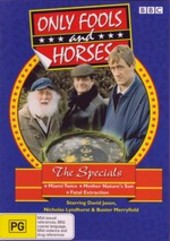 Only Fools And Horses - The Specials (3 Disc Set) on DVD