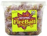 Atomic Fireball Cinnamon Candy Tub (1.15kg)