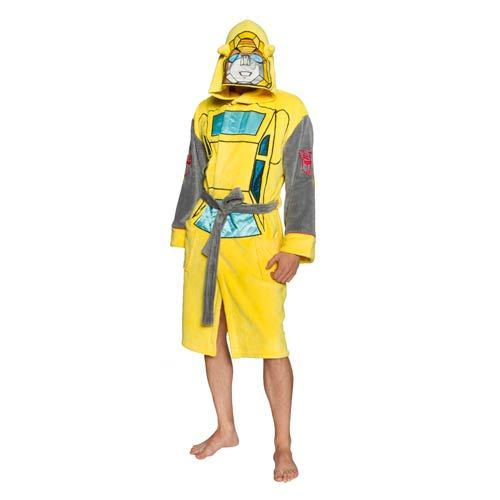 Transformers Hooded Dressing Gown - Bumblebee | at Mighty Ape NZ