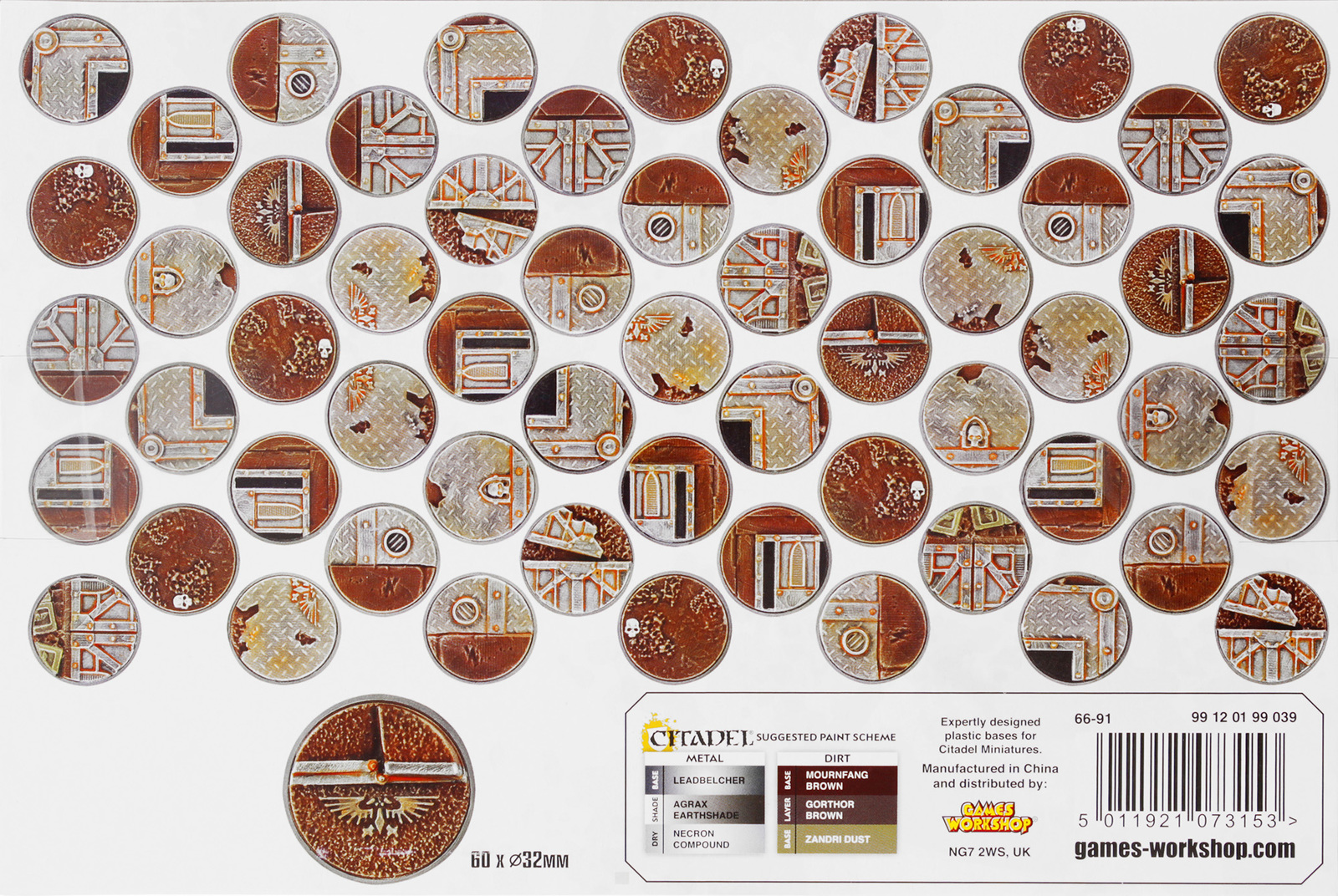 Sector Imperialis 32mm Round Bases image