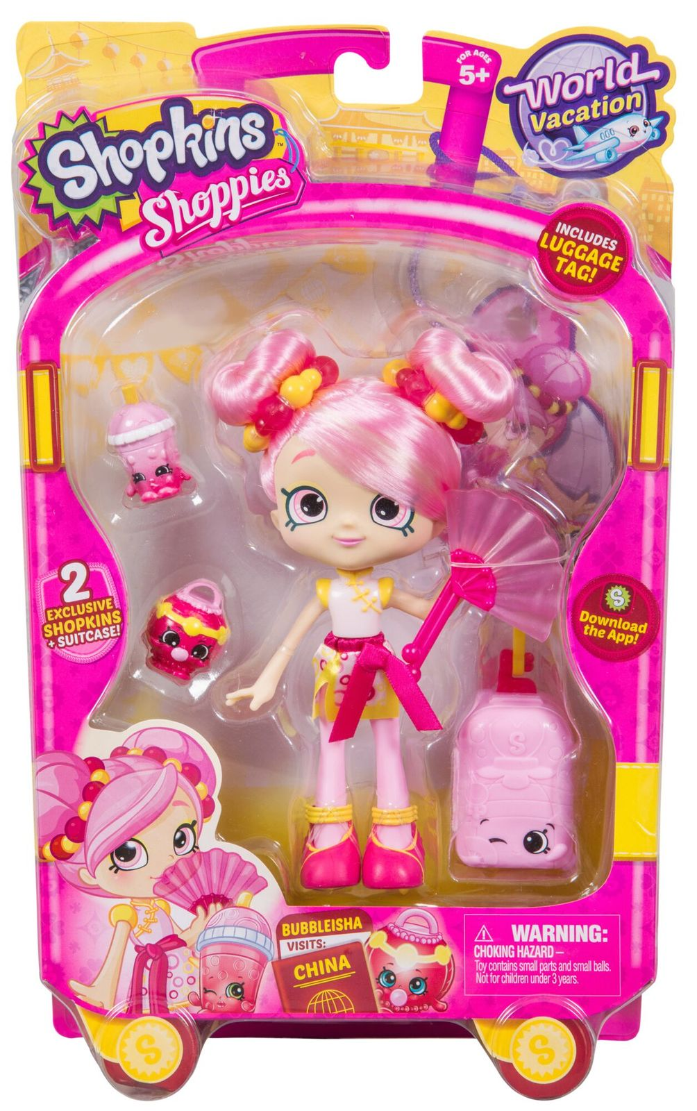 Shopkins: Shoppies - Season 8 Bubbleisha image