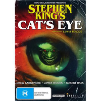 Stephen King's - Cat's Eye on DVD