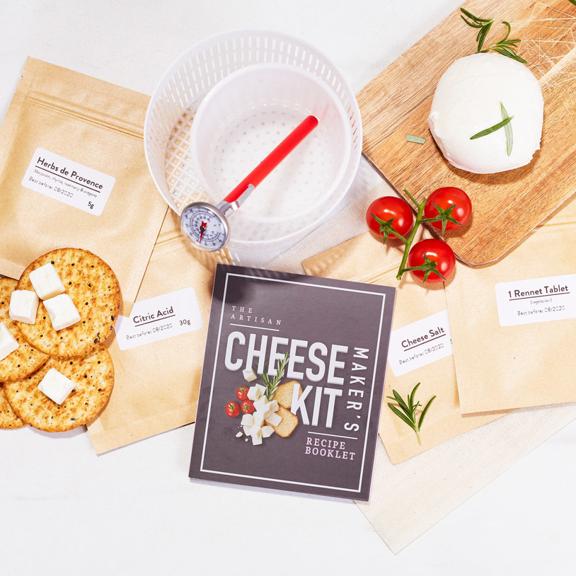 The Artisan Cheese Maker's Kit image