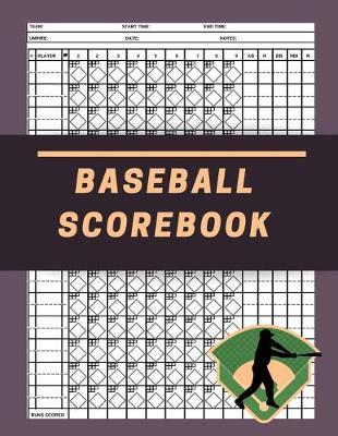 Baseball Scorebook by David J Barnett Publishing