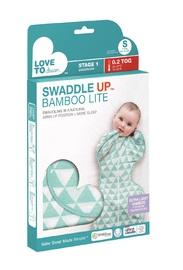 Love to Dream: Swaddle Up Bamboo 0.2Tog - Ocean (Medium)