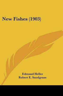 New Fishes (1903) by Edmund Heller image