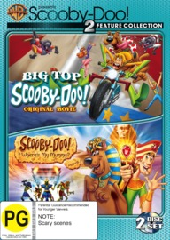 Scooby Doo Big Top Where S My Mummy Double Feature