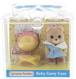 Sylvanian Families: Family Life Baby Carry Case - Bear Baby & Accessory