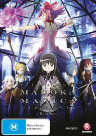 Puella Magi Madoka Magica: The Movie Rebellion on DVD