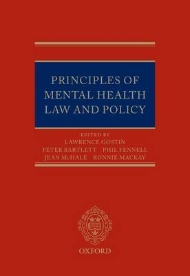 Principles of Mental Health Law and Policy image