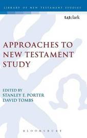 Approaches to New Testament Study image