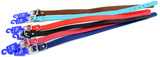 Genuine Leather Dog Collar 55cm - Assorted Colours