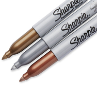 Sharpie Metallic Markers Assorted Pack of 3 image