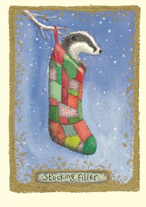 Stocking Filler Card image