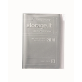 Storage.it 2018 Weekly A6 Diary - Silver