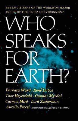 Who Speaks for Earth? | Barbara Ward Book | In-Stock - Buy Now | at
