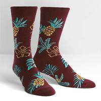Men's - Hawaiian Sock Day Crew Socks image