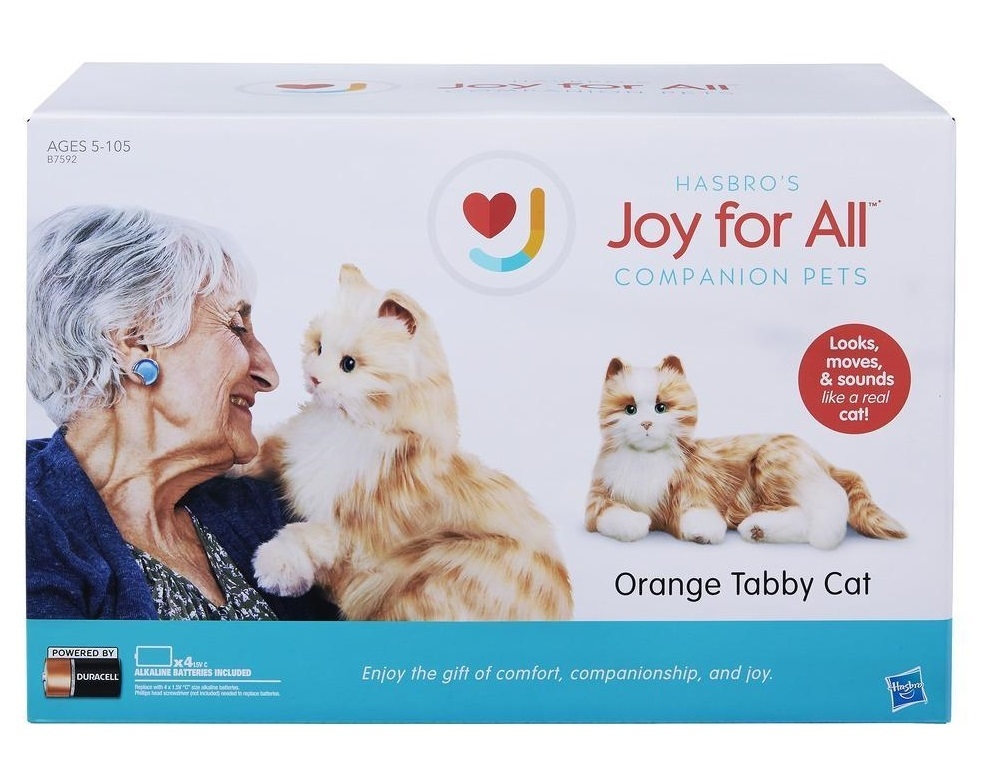 Joy For All: Companion Pets - Orange Tabby Cat image