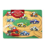 Melissa & Doug: Magnetic Wooden Tow Truck Puzzle