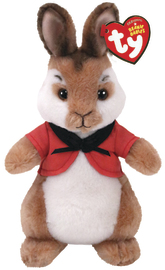Ty Peter Rabbit: Flopsy Rabbit - Small Plush