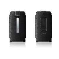 Belkin Black Leather Holster for 3G iPhone image