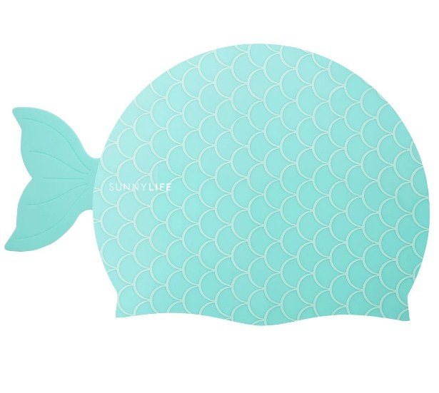 Sunnylife: Shaped Swimming Cap - Mermaid (3-9)