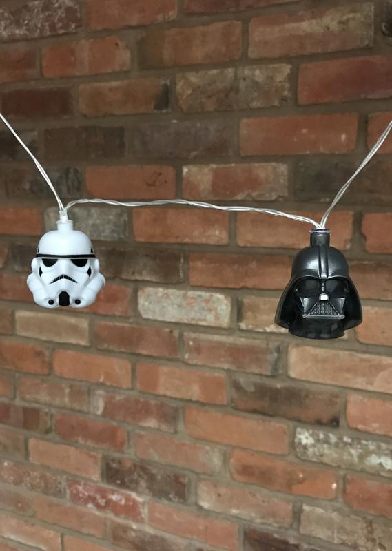 Star Wars: Stormtrooper and Darth Vader 3D String Lights