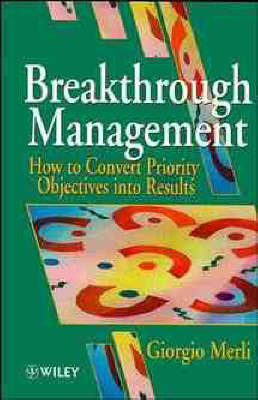 Breakthrough Management by Giorgio Merli image