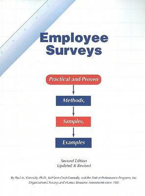 Employee Surveys: Practical and Proven Methods, Samples, Examples by Paul Connolly image